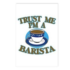 Trust Me I'm a Barista Postcards (Package of 8)