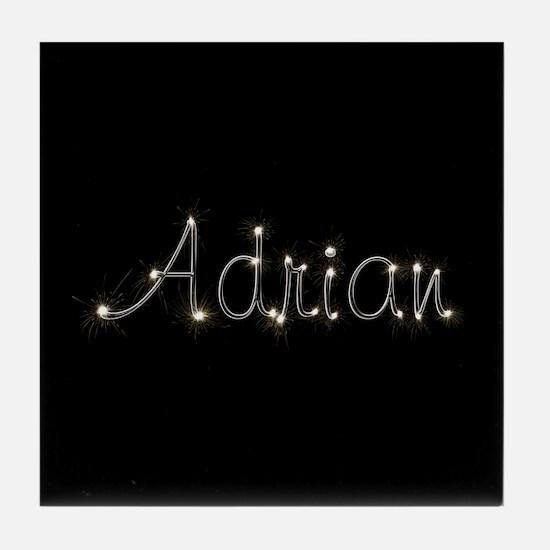 Adrian Spark Tile Coaster