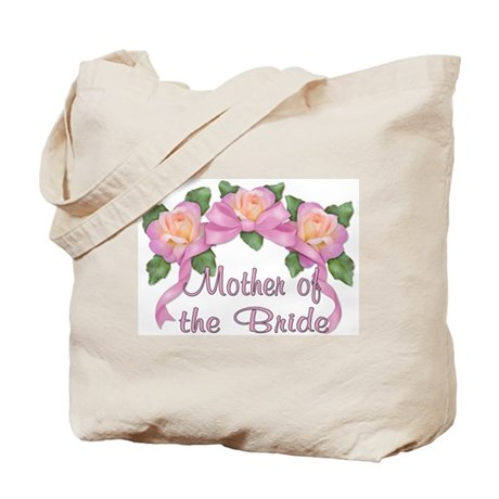Rose Ribbons - Mother of the Bride Tote Bag