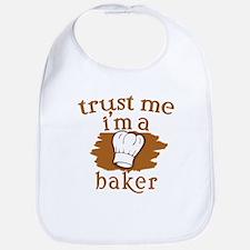 Trust Me I'm a Baker Bib