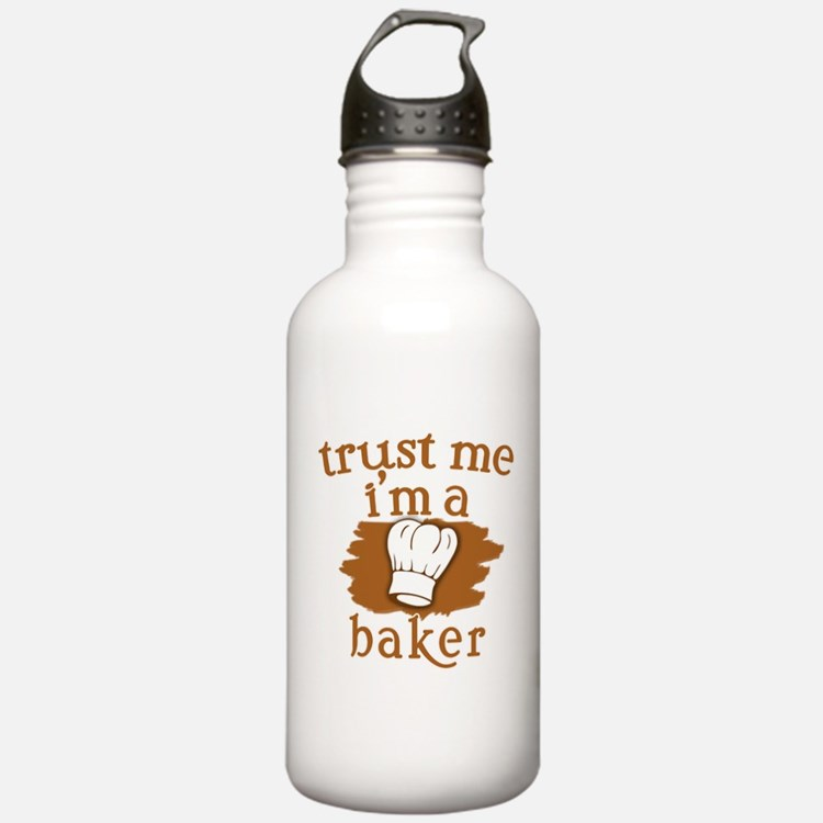 Trust Me I'm a Baker Water Bottle