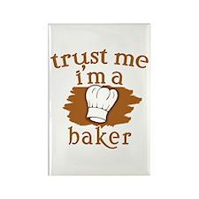 Trust Me I'm a Baker Rectangle Magnet