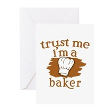 Trust Me I'm a Baker Greeting Cards (Pk of 10)