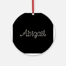 Abigail Spark Ornament (Round)