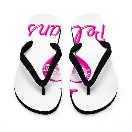 I Love/Heart Pelicans Flip Flops
