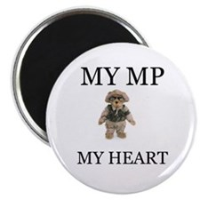 MY MP MY HEART Magnet