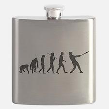 Evolution of Baseball Flask
