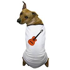 Acoustic Guitar Dog T-Shirt