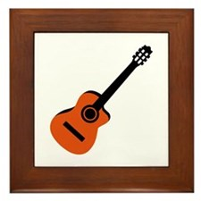 Acoustic Guitar Framed Tile
