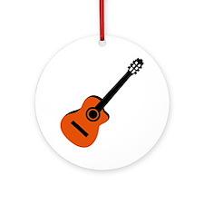 Acoustic Guitar Ornament (Round)