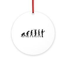Painter evolution Ornament (Round)