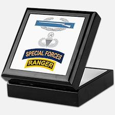 CIB Airborne Master SF Ranger Keepsake Box