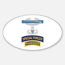 CIB Airborne Master SF Ranger Decal