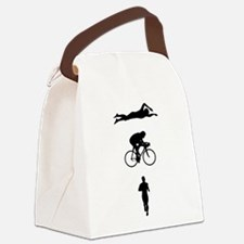 Triathletes Triathlon Canvas Lunch Bag