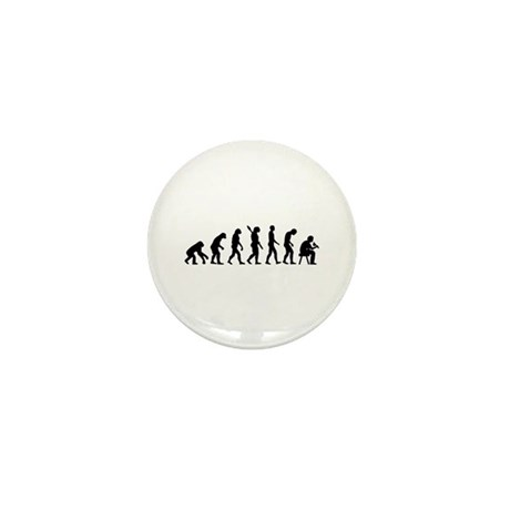 Tattoo artist evolution Mini Button (10 pack)
