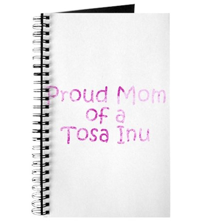 Proud Mom of a Tosa Inu Journal