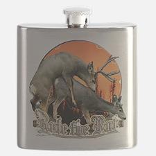mule deer rut Flask