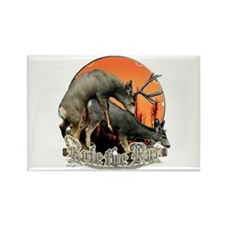 Rule the rut Rectangle Magnet