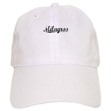Milagros, Aged, Baseball Cap