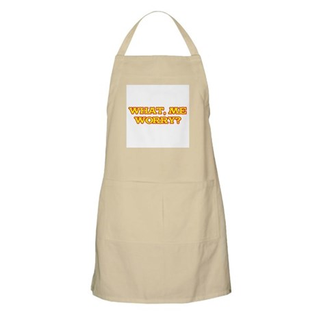 What, Me Worry? Apron