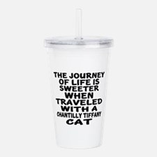 Traveled With chantill Acrylic Double-wall Tumbler