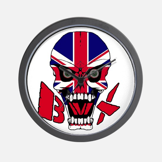 Union jack BMX Wall Clock