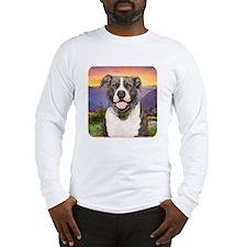 Pit Bull Meadow Long Sleeve T-Shirt