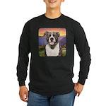 Pit Bull Meadow Long Sleeve Dark T-Shirt