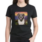 Pit Bull Meadow Women's Dark T-Shirt