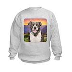 Pit Bull Meadow Kids Sweatshirt