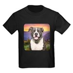 Pit Bull Meadow Kids Dark T-Shirt