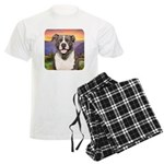 Pit Bull Meadow Men's Light Pajamas