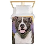 Pit Bull Meadow Twin Duvet