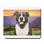 Pit Bull Meadow Mousepad