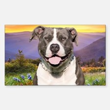 Pit Bull Meadow Decal