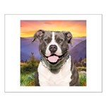 Pit Bull Meadow Small Poster