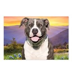 Pit Bull Meadow Postcards (Package of 8)