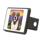 Pit Bull Meadow Rectangular Hitch Cover