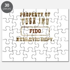 Personalized Property of Tosa Inu Puzzle