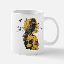 Skull and Crow Mug