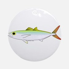 Scad Jack (Green Jack) fish Ornament (Round)