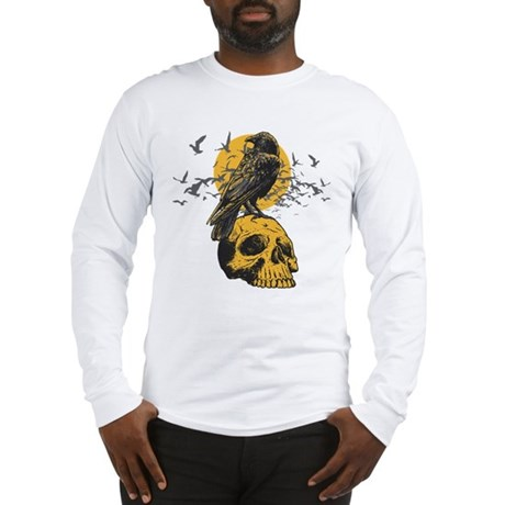Skull and Crow Long Sleeve T-Shirt