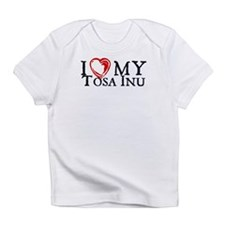 I Heart My Tosa Inu Infant T-Shirt
