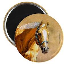 Palomino Quarter Horse Magnet