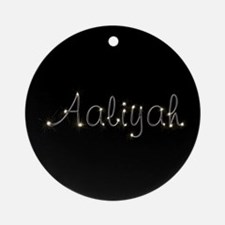 Aaliyah Spark Ornament (Round)
