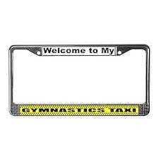 Mom's Gymnastics Taxi License Plate Frame