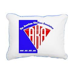 NEW AKA Rectangular Canvas Pillow