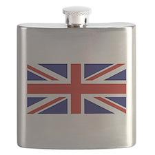 British Flag Flask