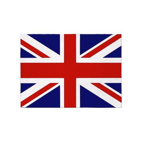 British Flag 5'x7'Area Rug