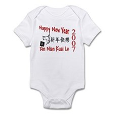 Chinese New Year Infant Creeper
